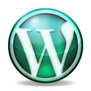 WordPress_logo_verre